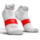 Compressport Pro Racing V3.0 UItralight Run Low Running Socks white